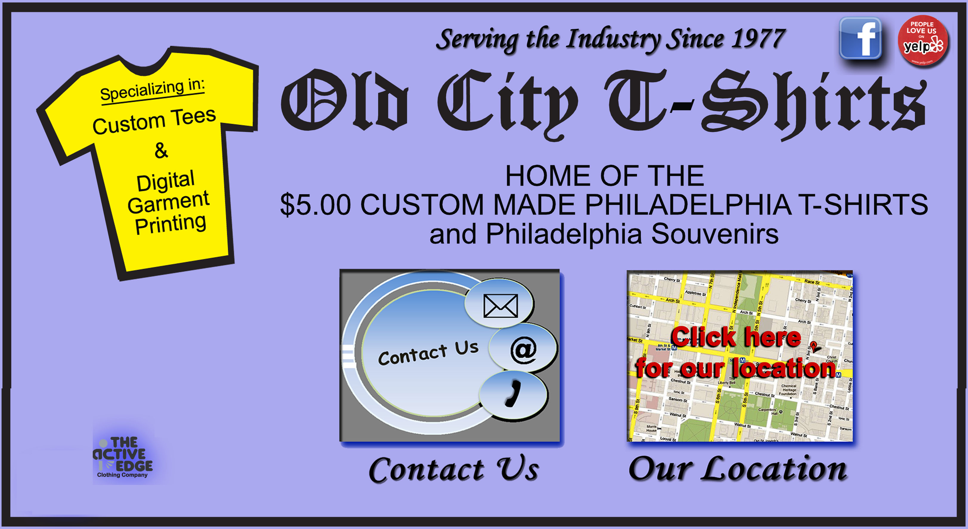 Old City T Shirts In Philadelphia Home Of The 500 Custom Made T